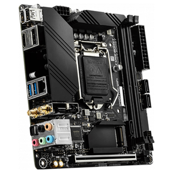 Product image of MSI H410I PRO WiFi LGA1200 mITX Desktop Motherboard - Click for product page of MSI H410I PRO WiFi LGA1200 mITX Desktop Motherboard