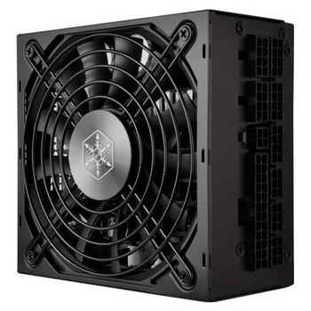 Product image of SilverStone SX1000 80PLUS Platinum Fully Modular SFX-L Power Supply - Click for product page of SilverStone SX1000 80PLUS Platinum Fully Modular SFX-L Power Supply