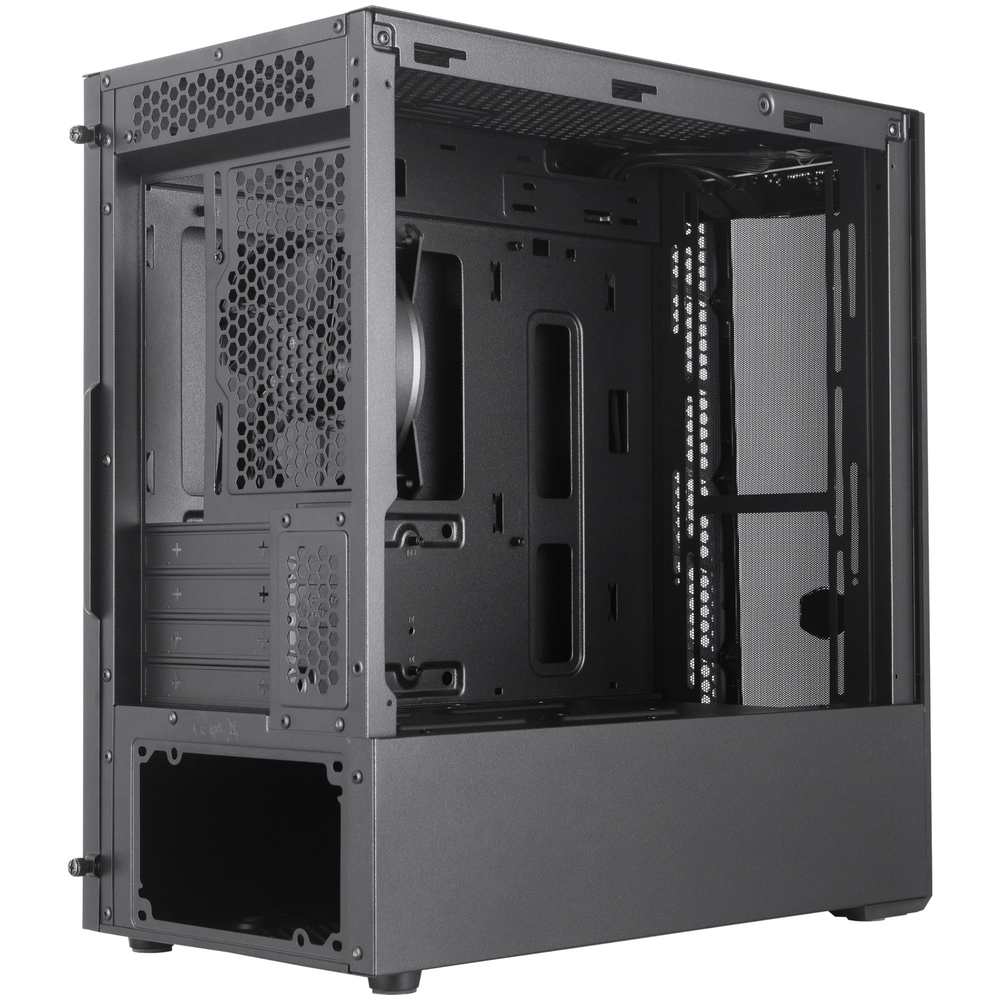 A large main feature product image of Cooler Master MasterBox MB311L mATX Mini Tower Case