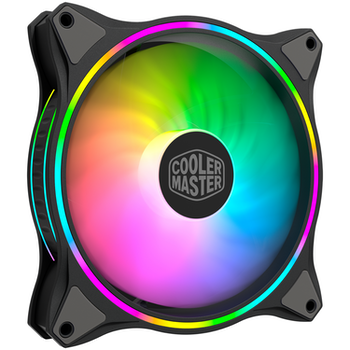 Product image of Cooler Master MasterFan MF140 Halo Dual Loop ARGB 140mm Cooling Fan - Click for product page of Cooler Master MasterFan MF140 Halo Dual Loop ARGB 140mm Cooling Fan