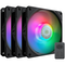A small tile product image of Cooler Master SickleFlow 120 ARGB 120mm Cooling Fan - 3 Pack