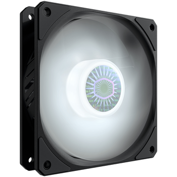 Product image of Cooler Master SickleFlow 120 LED 120mm Cooling Fan - White - Click for product page of Cooler Master SickleFlow 120 LED 120mm Cooling Fan - White