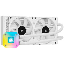 Product image of Corsair iCue H100i ELITE Capellix AIO Liquid CPU Cooler - Click for product page of Corsair iCue H100i ELITE Capellix AIO Liquid CPU Cooler