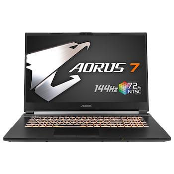 "Product image of EX-DEMO Gigabyte Aorus 7 SB-7AU1130SH 17.3"" i7 GTX 1660 Ti Windows 10 Home Gaming Notebook - Click for product page of EX-DEMO Gigabyte Aorus 7 SB-7AU1130SH 17.3"" i7 GTX 1660 Ti Windows 10 Home Gaming Notebook"