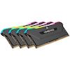 A product image of Corsair 128GB (4x32GB) DDR4 Vengeance RGB Pro SL C16 3200Mhz