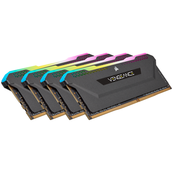 Product image of Corsair 128GB (4x32GB) DDR4 Vengeance RGB Pro SL C16 3200Mhz - Click for product page of Corsair 128GB (4x32GB) DDR4 Vengeance RGB Pro SL C16 3200Mhz