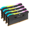 A small tile product image of Corsair 128GB (4x32GB) DDR4 Vengeance RGB Pro SL C16 3200Mhz