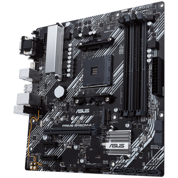 Product image of Asus Prime B450M-A II AM4 mATX Desktop Motherboard - Click for product page of Asus Prime B450M-A II AM4 mATX Desktop Motherboard