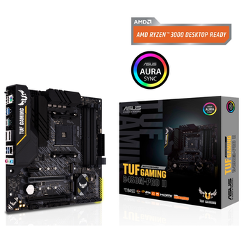 Product image of Asus TUF Gaming B450M-PRO II AM4 mATX Desktop Motherboard - Click for product page of Asus TUF Gaming B450M-PRO II AM4 mATX Desktop Motherboard