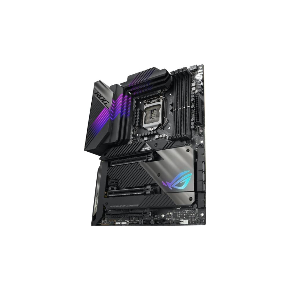 A large main feature product image of ASUS ROG MAXIMUS XIII HERO LGA1200 ATX Desktop Motherboard