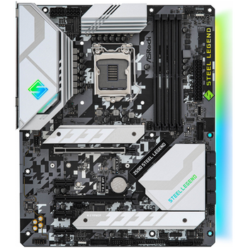 Product image of ASRock Z590 Steel Legend LGA1200 ATX Desktop Motherboard - Click for product page of ASRock Z590 Steel Legend LGA1200 ATX Desktop Motherboard