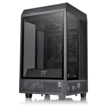 Product image of Thermaltake Tower 100 Mini ITX Chassis Black - Click for product page of Thermaltake Tower 100 Mini ITX Chassis Black