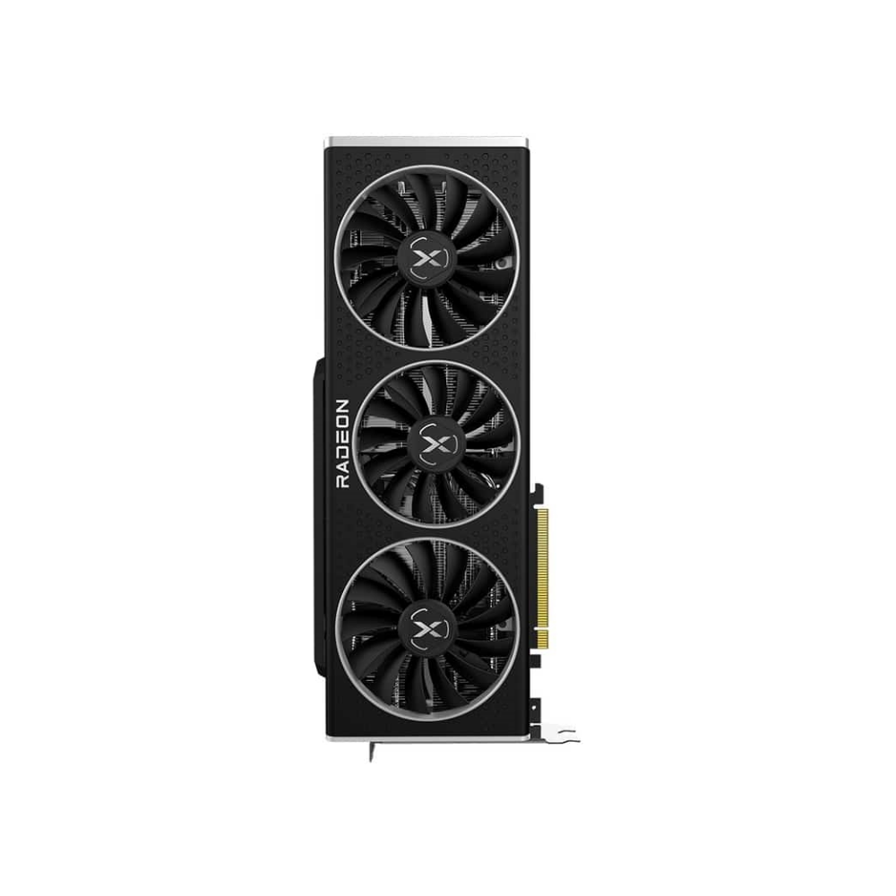 A large main feature product image of XFX Radeon RX 6800 XT Speedster MERC 319 Core 16GB GDDR6