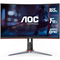 """A small tile product image of AOC C24G2 23.6"""" Full HD FreeSync Curved 165Hz 1MS VA LED Gaming Monitor"""