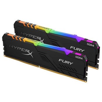 Product image of Kingston 32GB Kit (2x16GB) DDR4 HyperX Fury RGB C18 3600Mhz - Click for product page of Kingston 32GB Kit (2x16GB) DDR4 HyperX Fury RGB C18 3600Mhz