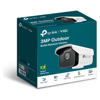 Product image of TP-LINK VIGI 3MP Outdoor Bullet Network Camera - 6mm Lens - Click for product page of TP-LINK VIGI 3MP Outdoor Bullet Network Camera - 6mm Lens