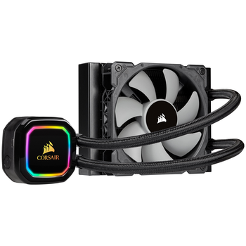 Product image of Corsair iCue H60i RGB Pro XT 120mm AIO Liquid CPU Cooler - Click for product page of Corsair iCue H60i RGB Pro XT 120mm AIO Liquid CPU Cooler