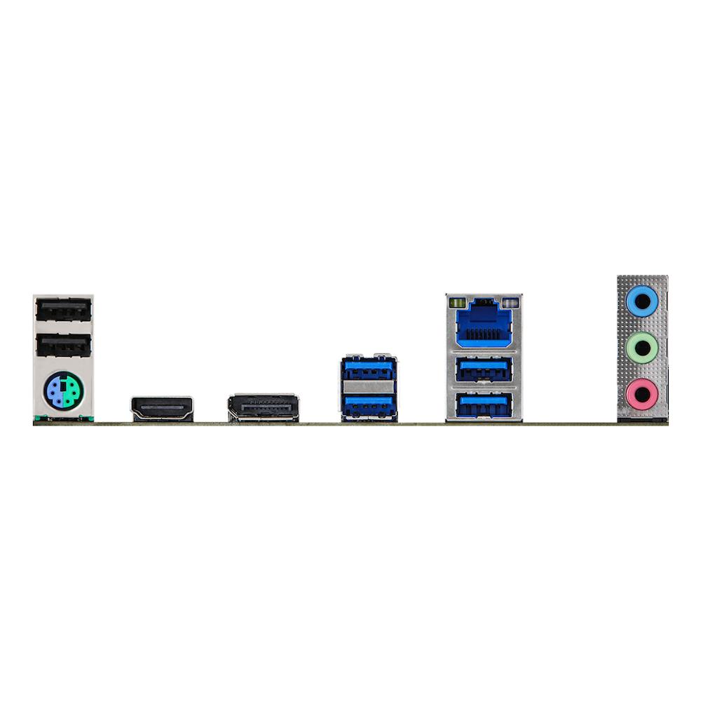 A large main feature product image of ASRock Z590 Pro 4 LGA1200 ATX Desktop Motherboard