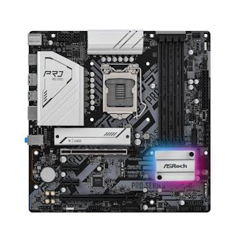 Product image of ASRock Z590M Pro4 LGA1200 mATX Desktop Motherboard - Click for product page of ASRock Z590M Pro4 LGA1200 mATX Desktop Motherboard