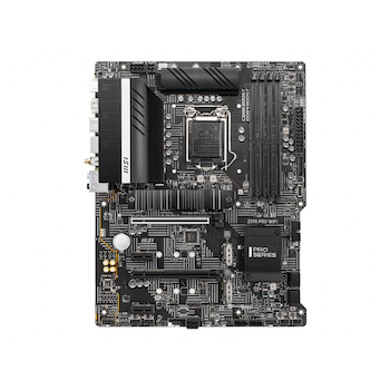 Product image of MSI Z590 Pro WiFi LGA1200 ATX Desktop Motherboard - Click for product page of MSI Z590 Pro WiFi LGA1200 ATX Desktop Motherboard