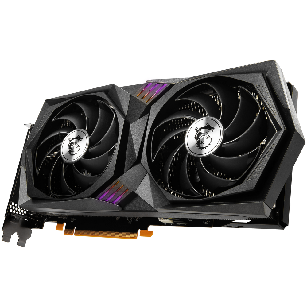 A large main feature product image of MSI GeForce RTX 3060 GAMING X 12GB GDDR6