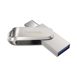Product image of SanDisk Ultra Dual Drive Luxe USB Type-C Flash Drive 64GB - Click for product page of SanDisk Ultra Dual Drive Luxe USB Type-C Flash Drive 64GB