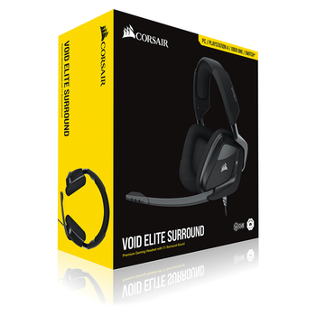 Product image of CORSAIR VOID ELITE SURROUND Gaming Headset - Click for product page of CORSAIR VOID ELITE SURROUND Gaming Headset