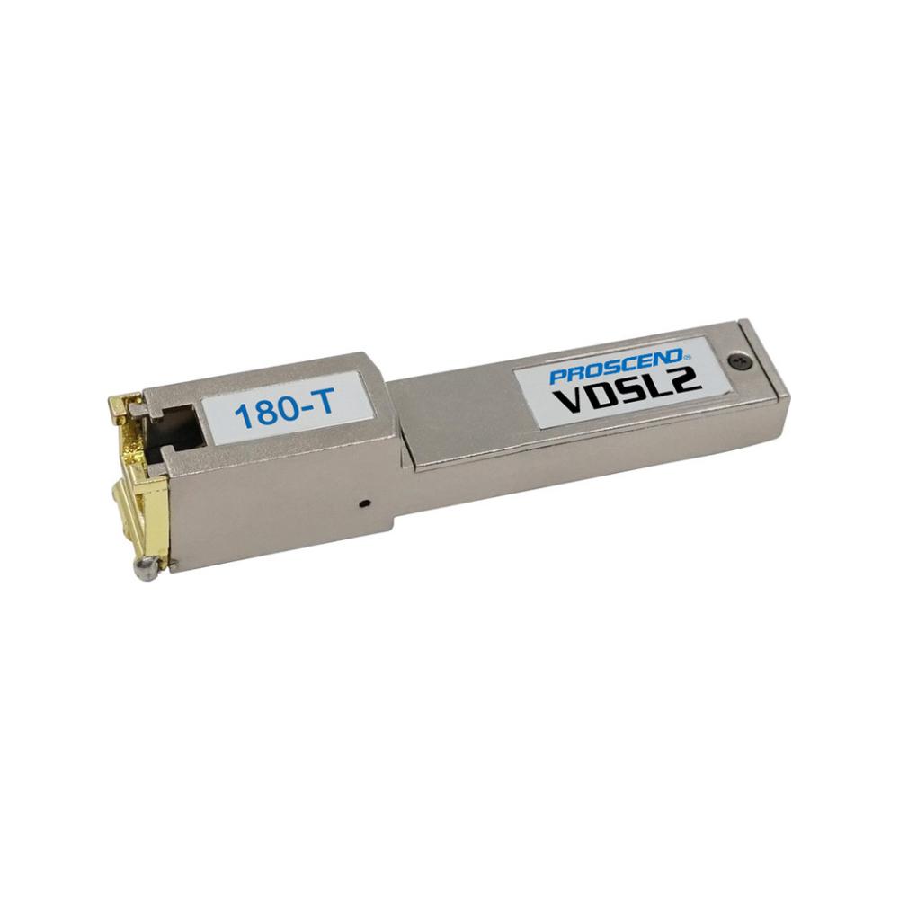 A large main feature product image of Proscend SFP VDSL2 Modem Suit Ubiquiti Devices