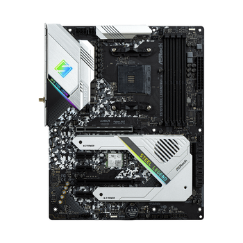 Product image of ASRock X570 Steel Legend WiFi AX AM4 Desktop Motherboard - Click for product page of ASRock X570 Steel Legend WiFi AX AM4 Desktop Motherboard
