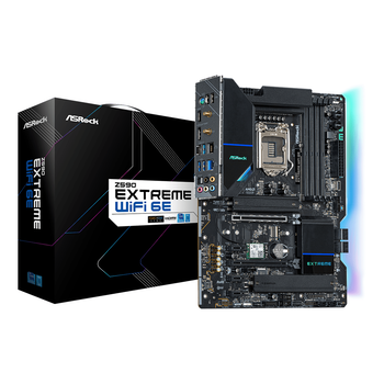 Product image of ASRock Z590 Extreme WiFi 6E LGA1200 ATX Desktop Motherboard - Click for product page of ASRock Z590 Extreme WiFi 6E LGA1200 ATX Desktop Motherboard
