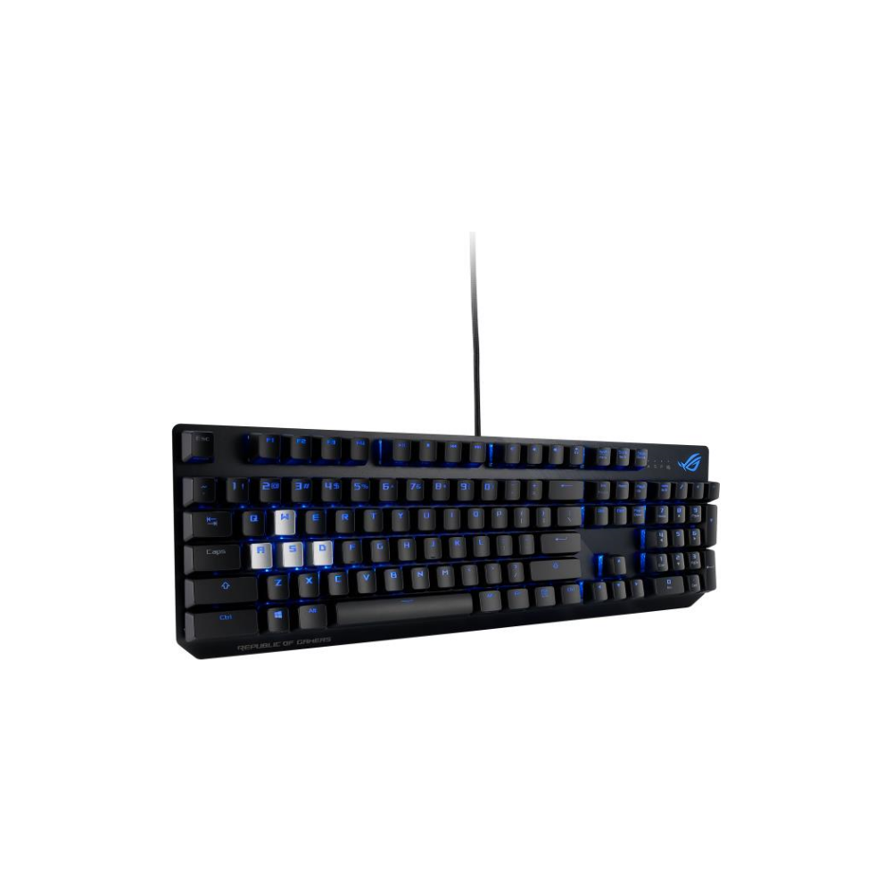 A large main feature product image of Asus ROG Strix Scope Mechanical Gaming Keyboard (MX Red)