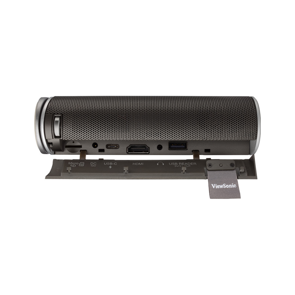 A large main feature product image of ViewSonic M1 G2 Portable LED Projector