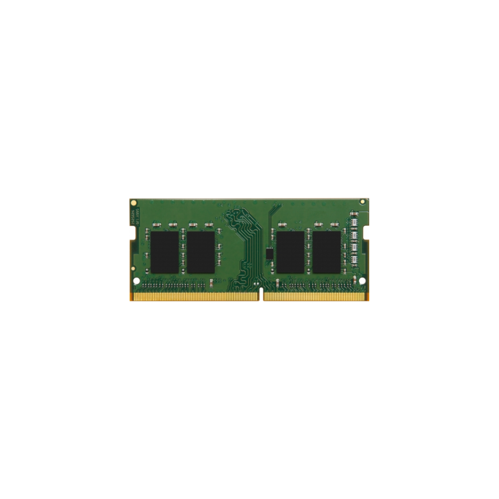 A large main feature product image of Kingston 4GB DDR4 SO-DIMM C17 2400MHz