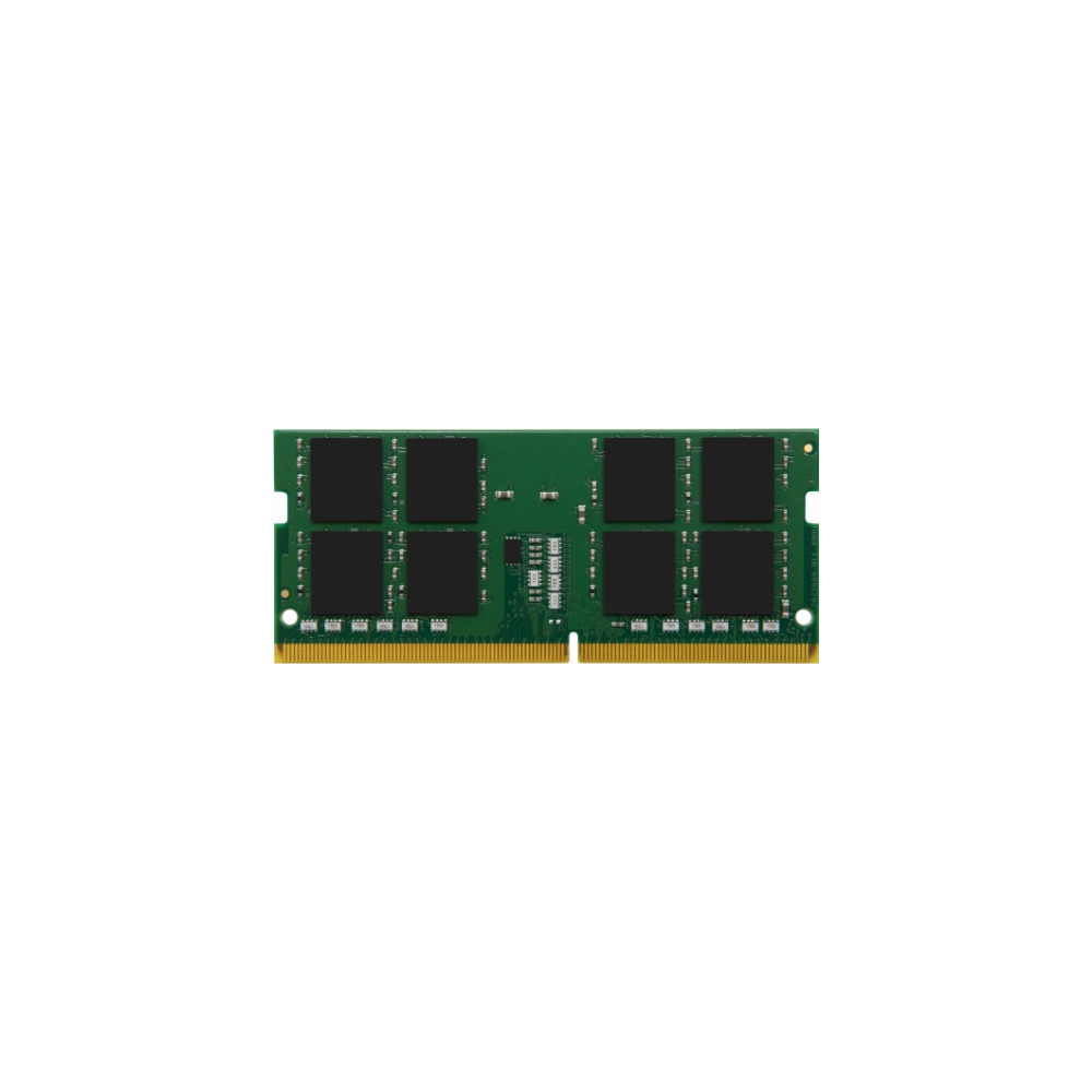 A large main feature product image of Kingston 16GB DDR4 SO-DIMM C17 2400MHz