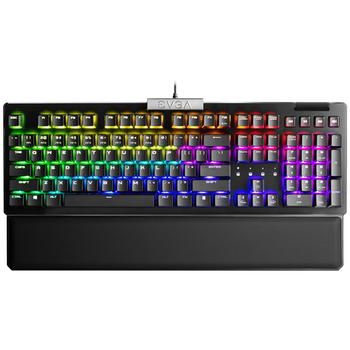 Product image of eVGA Z15 RGB Mechanical Gaming Keyboard Hot Swappable (Kailh Silver) - Click for product page of eVGA Z15 RGB Mechanical Gaming Keyboard Hot Swappable (Kailh Silver)