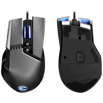 Product image of EVGA X17 Wired Gaming Mouse Grey - Click for product page of EVGA X17 Wired Gaming Mouse Grey