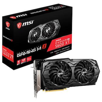 Product image of MSI Radeon RX 5600 XT GAMING MX 6GB GDDR6 - Click for product page of MSI Radeon RX 5600 XT GAMING MX 6GB GDDR6