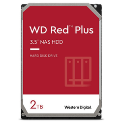"Product image of WD Red Plus 3.5"" 2TB 128MB 5400RPM CMR NAS HDD - Click for product page of WD Red Plus 3.5"" 2TB 128MB 5400RPM CMR NAS HDD"