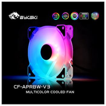 Product image of Bykski 120mm RBW Addressable RGB 120mm Fan - Click for product page of Bykski 120mm RBW Addressable RGB 120mm Fan