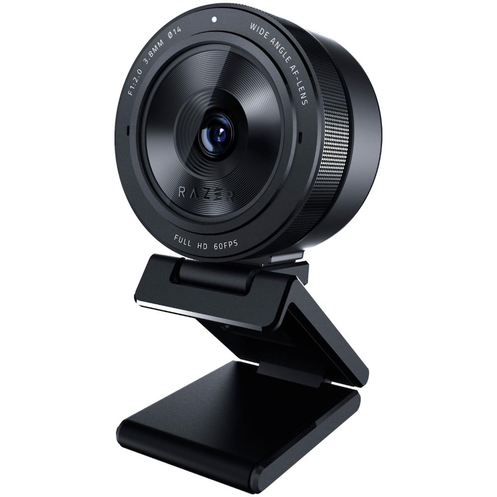 A large main feature product image of Razer Kiyo Pro - USB Camera with High-Performance Adaptive Light Sensor
