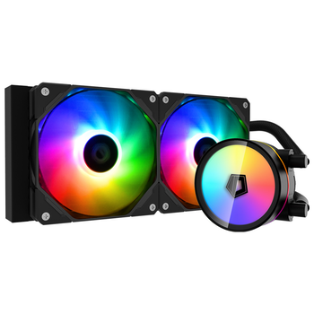 Product image of ID-COOLING ZoomFlow 240 XT 240mm Addressable RGB AIO CPU Liquid Cooler - Click for product page of ID-COOLING ZoomFlow 240 XT 240mm Addressable RGB AIO CPU Liquid Cooler