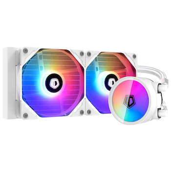 Product image of ID-COOLING ZoomFlow 240 XT SNOW 240mm Addressable RGB AIO CPU Liquid Cooler - Click for product page of ID-COOLING ZoomFlow 240 XT SNOW 240mm Addressable RGB AIO CPU Liquid Cooler