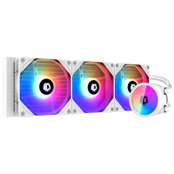 Product image of ID-COOLING ZoomFlow 360 XT SNOW 3600mm Addressable RGB AIO CPU Liquid Cooler - Click for product page of ID-COOLING ZoomFlow 360 XT SNOW 3600mm Addressable RGB AIO CPU Liquid Cooler
