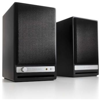Product image of Audioengine HD4 Powered Wireless Desktop Speakers - Satin Black - Click for product page of Audioengine HD4 Powered Wireless Desktop Speakers - Satin Black