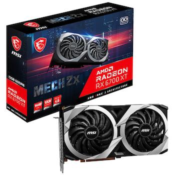 Product image of MSI Radeon RX 6700 XT MECH 2X OC 12GB GDDR6 - Click for product page of MSI Radeon RX 6700 XT MECH 2X OC 12GB GDDR6
