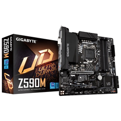 Product image of Gigabyte Z590M LGA1200 mATX Desktop Motherboard - Click for product page of Gigabyte Z590M LGA1200 mATX Desktop Motherboard