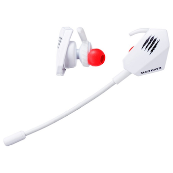 Product image of Mad Catz E.S. PRO+ Gaming Earbuds White - Click for product page of Mad Catz E.S. PRO+ Gaming Earbuds White