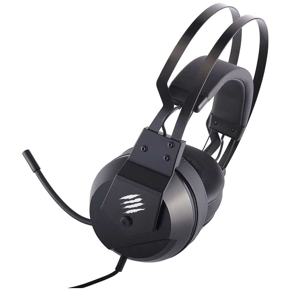 A large main feature product image of Mad Catz F.R.E.Q. 2 Gaming Headset Black