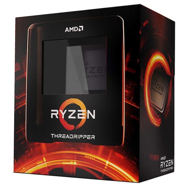 A large main feature product image of PLE Custom AMD Threadripper Desktop PC System