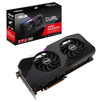 Product image of ASUS Radeon RX 6700 XT Dual 12GB GDDR6 - Click for product page of ASUS Radeon RX 6700 XT Dual 12GB GDDR6